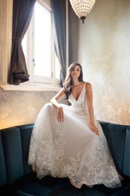 Michelle Roth Hadden Gown