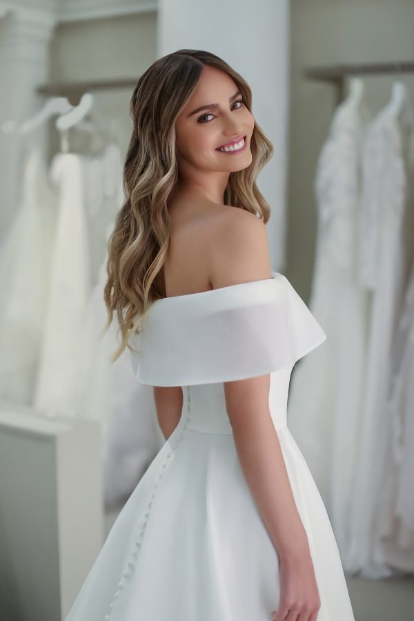 Michelle Roth Gown Kendall front and back